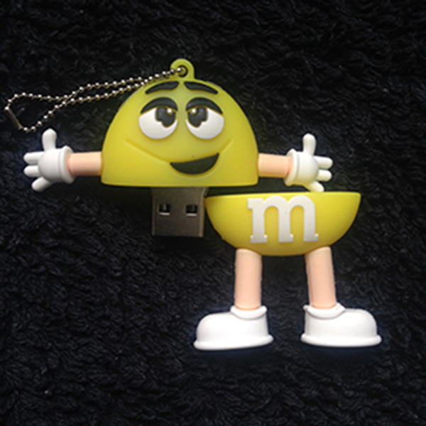 Yellow M&M Image